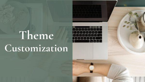Theme customization header
